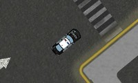 Garer une voiture de police