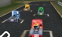 Course de camion 3D