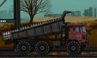Camion dans un chantier
