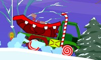 Camion du Père Noël