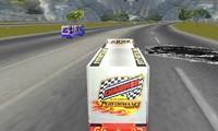 Course de camion en 3D