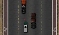 Camion sur autoroute