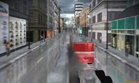 Camion en ville 3D