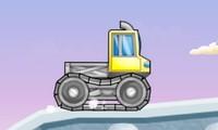 Camion sur glace