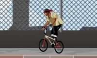 BMX dans la rue