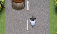 Vélo sur la route