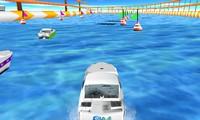 Bateau de course 3D