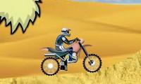 Motocross dans le desert