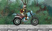 Motocross en forêt