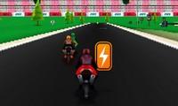 Course de moto 3D