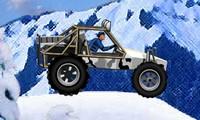 Buggy dans la neige