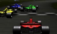 Course de Formule 1 en 3D