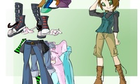 Habiller personnage de manga