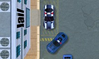 Voiture de police à garer