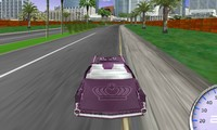 Course de voiture de collection 3D