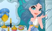 Maquillage princesse de glace