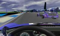 Voiture avec volant 3D