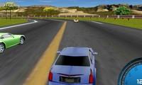 Voiture 3D de course en ligne