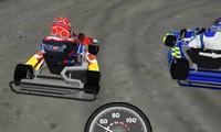 Kart 3D sur circuit