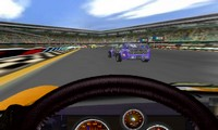 Voiture de course à conduire 3D