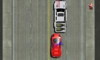 Course poursuite en voiture de police