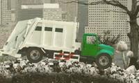 Conduire un camion poubelle