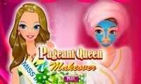Maquillage de reine de beauté