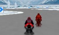 Moto de neige 3D
