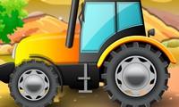 Parking de tracteur