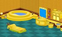 Evasion de la salle de bain en or