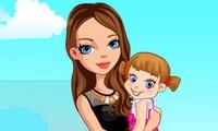Habillage princesse et bébé royal