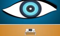 Evasion chambre avec un oeil
