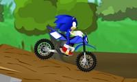 Moto Trial avec Sonic