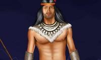 Habillage homme indien