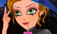 Maquillage pour vampire