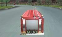 Course de camions de pompier