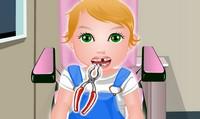 Bébé chez le dentiste
