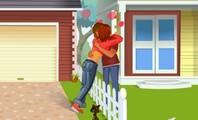Embrasser le voisin