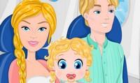 Barbie vacances d'hiver en famille