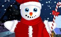 Habillage bonhomme de neige