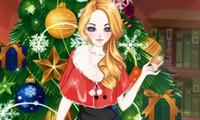 Habillage fille pour Noël