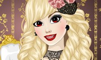 Habillage fille vampire