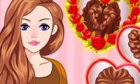 Coiffure pour Saint Valentin