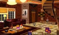 Evasion maison piégée pour Halloween