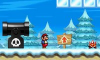 Super Mario Aventure dans la neige