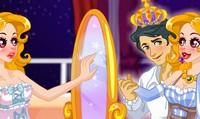 Habillage devant un miroir