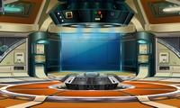 Evasion du vaisseau alien
