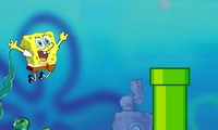 Flappy Bird Bob l'éponge