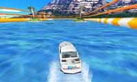Course de bateau rapide 3D
