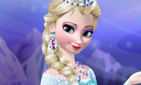 Maquillage Elsa la reine des neiges
